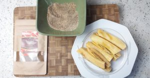 Plantains panés Suya Mix