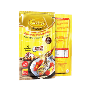Secret spices fish seasoning