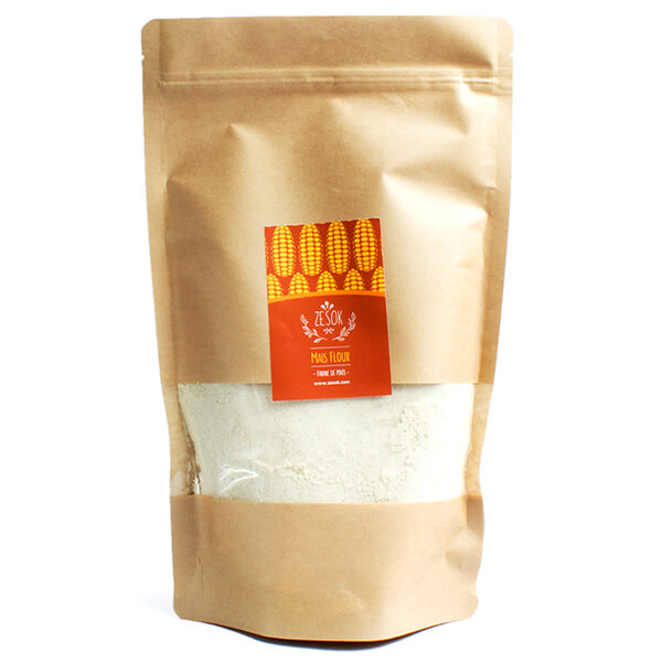 Maize flour white